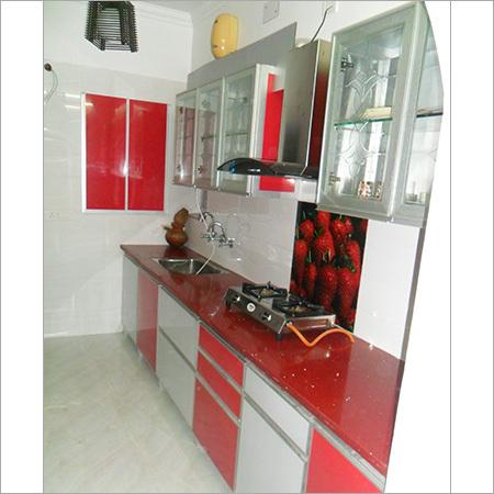 Aluminium Designer Modular Kitchen