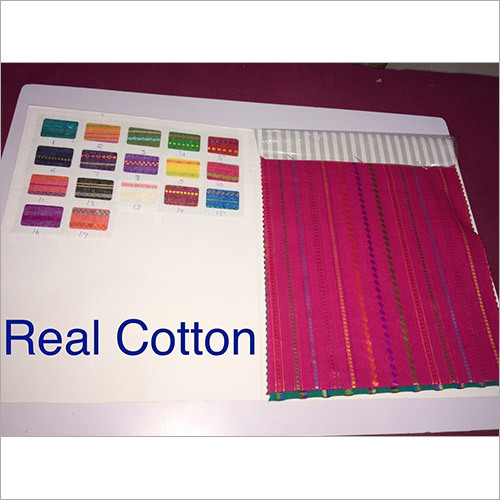 Real Cotton Blouse Fabrics