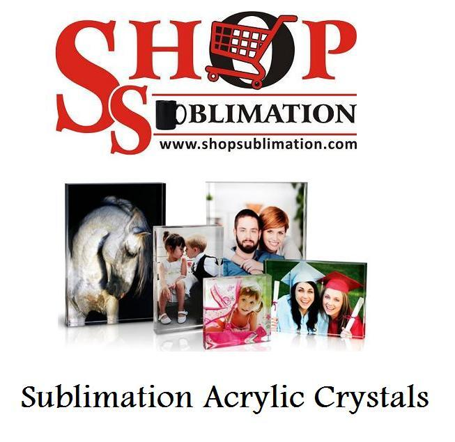Sublimation Acrylic Crystals