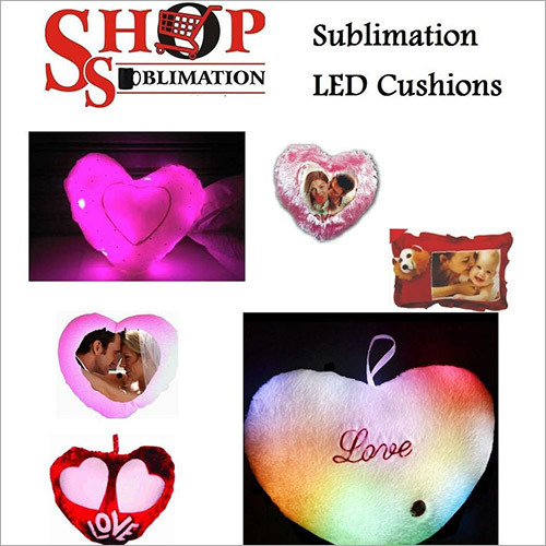 Sublimation LED Cushions