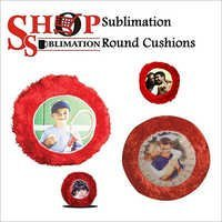 Sublimation Round Cushions