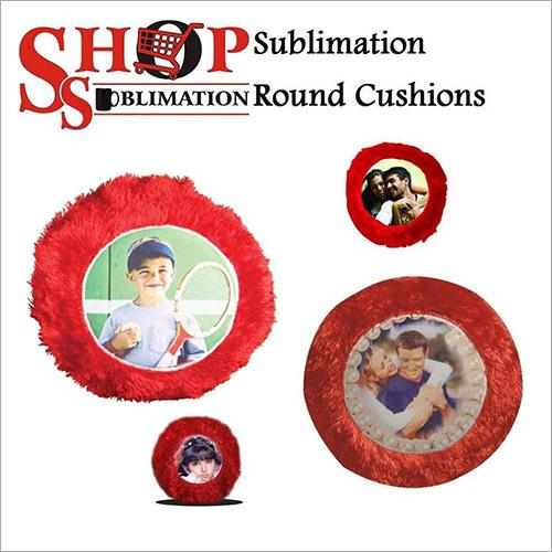 Sublimation Round Cushions