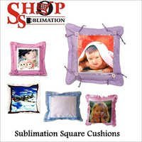 Sublimation Square Cushions