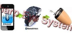 bluetooth watch for wireless spy earpiece