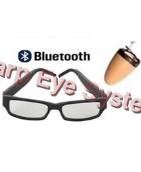 spy bluetooth glasses with nano earpiece