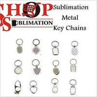 Sublimation Metal Key Chains