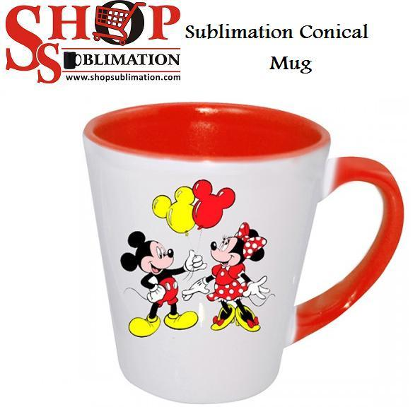 Sublimation Conical Mugs