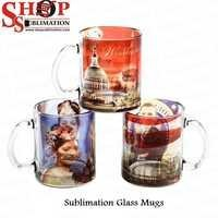 Sublimation Clear Glass Mugs
