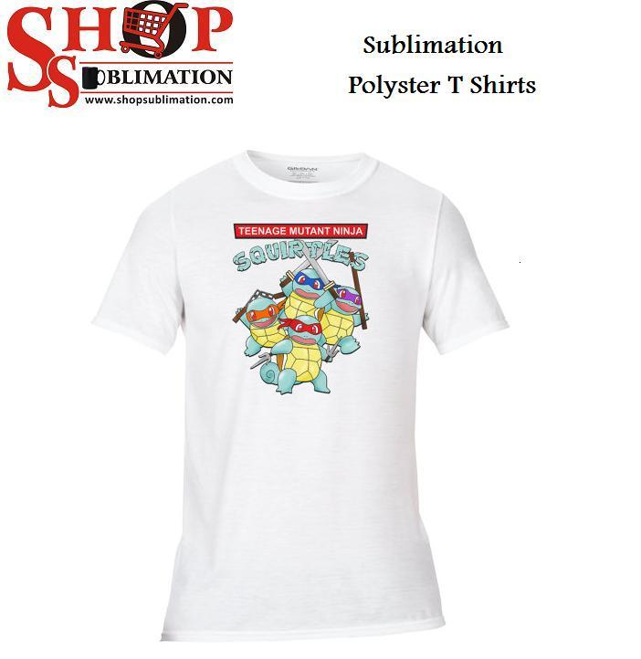 Sublimation Polyester T Shirts