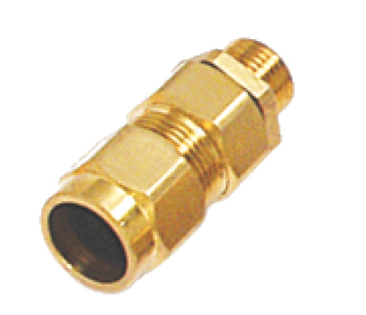 E1W Brass Cable Gland Indoor Or Outdoor