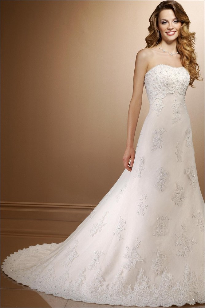 Floor Length Bridal Dresses