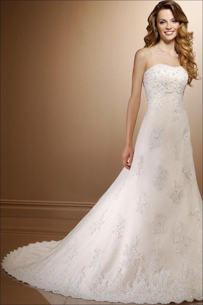 Floor Length Bridal Dresses