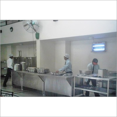 Dispensing Counter With Bain Marie
