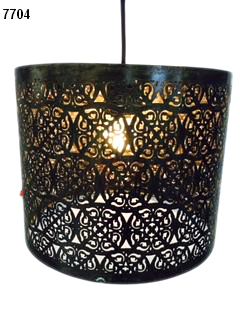 Etched Pendant Lamps