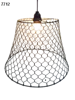 Wire Pendant Lamp Shade