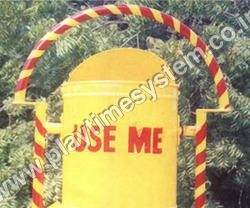 Pipe Stand Dustbin