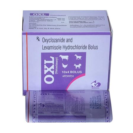 Oxyclonazide / Levamisole Hcl Bolus