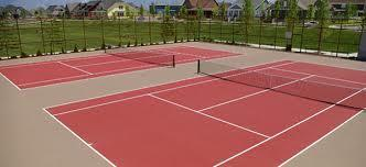 TENNIS COURT REPAIR / RENOVATION