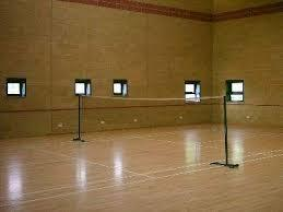 Indoor Squash Court Wooden Flooring