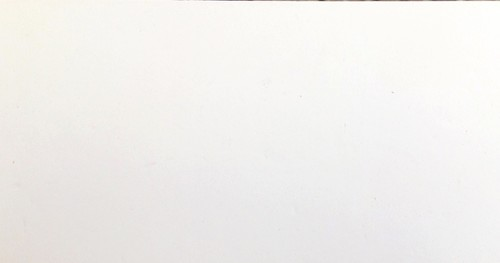 Laminated Cement Particle Board - White