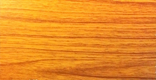 Laminated Cement Particle Board - Natural Teak