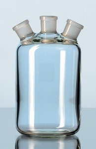Woulff Bottle with Three Standard Joint Necks