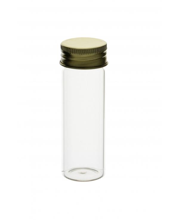Mac-Cartney Bottles Complete With Aluminium Cap (Borosilicate Glass)