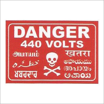 Danger Boards