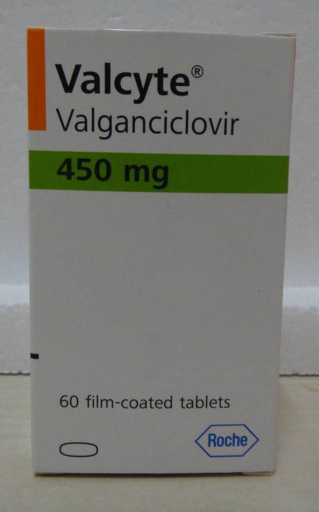 Valganciclovir Tablet 450mg