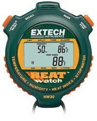 HeatWatch™ Humidity/Temperature Stopwatch