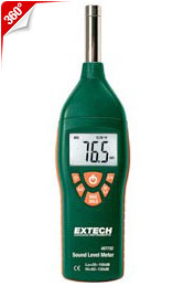 Low/High Range Sound Level Meter