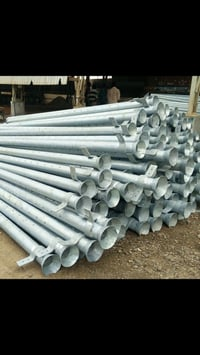 Hot Dipped Galvanized Pipe Poles