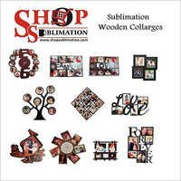 Sublimation Wooden Collage Frames
