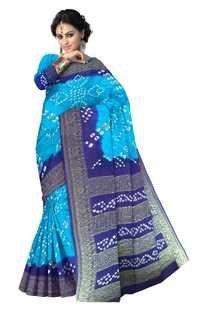 Latest Jamnagar Bandhani Saree