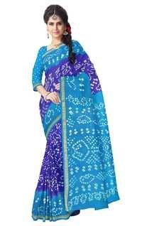 Bandhani Art Silk Saree
