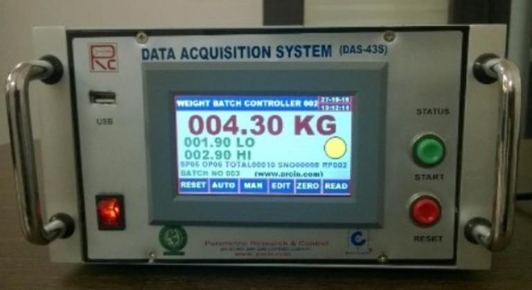 Batch Weighing System (HMI Based)
