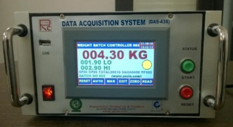 Batch Weighing System (HMI Based)