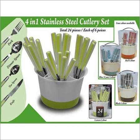 4 in 1 Cutlery Set