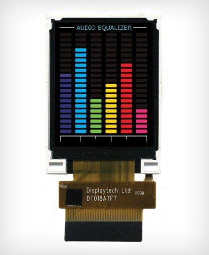 TFT LCD Display DT018ATFT