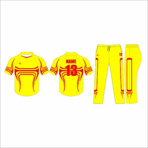 Dye Sublimated Cricket Uniforms