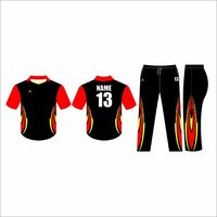 Cricket Shirt With Player Name and Number