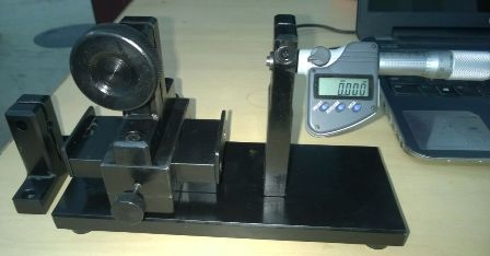 LVDT Calibration Jig