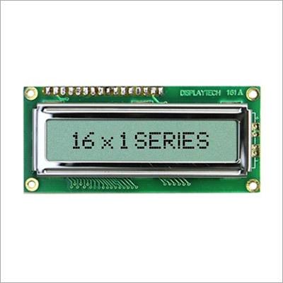 16x1 Character LCD Display Module
