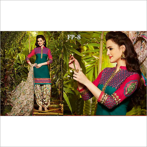 Floral patiala suits