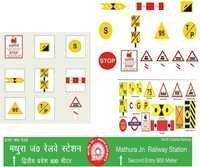 Railway Sign Board