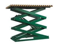 Stationary Hydraulic Lift Table