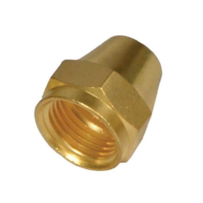 Brass Flare Reducing Nut (Short)