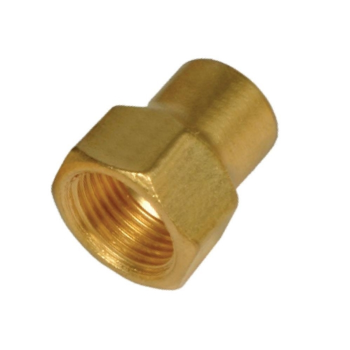 Brass Flare Forged Nut Long