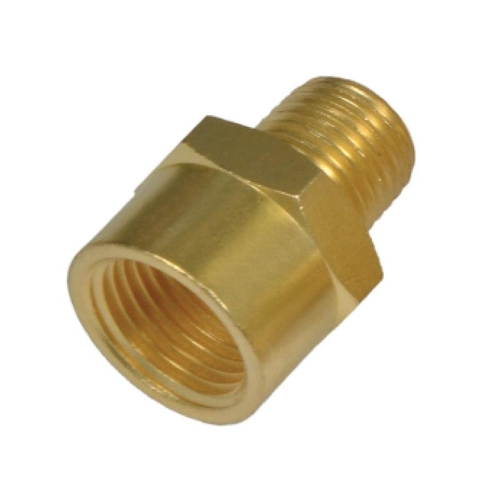 Brass Flare Female to Male Adapter