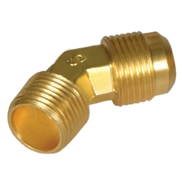Brass Flare Male Elbow 45*
